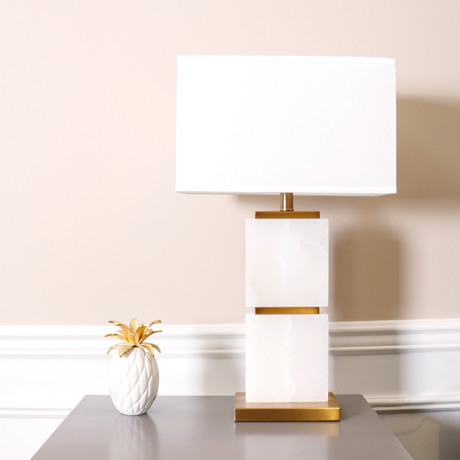 Imperial Table Lamp // White