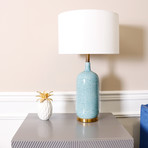 Tucson Table Lamp // Blue