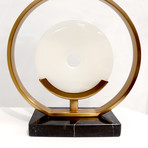Sphere Table Lamp // Gold