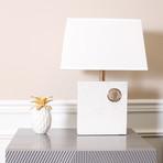 Verona Table Lamp // White
