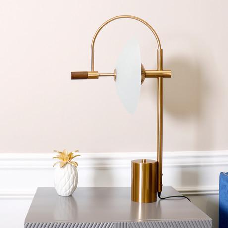 Scion Table Lamp // Bronze