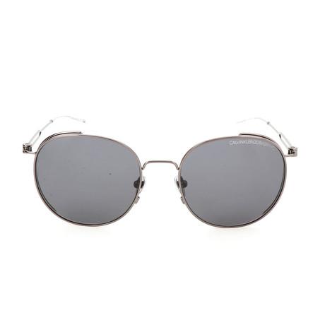 Unisex CK8052 Sunglasses // Shiny Titanium