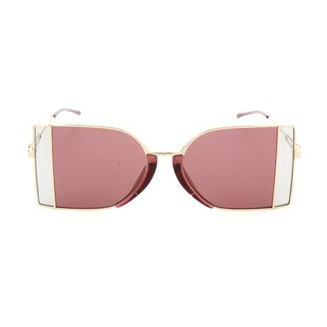 Unisex CK8057 Sunglasses // Light Gold