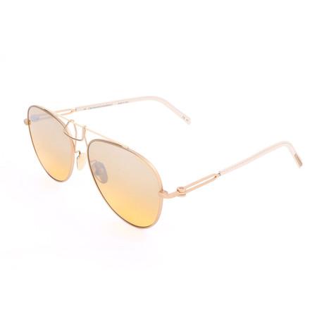 Unisex CKNYC1812 Sunglasses V2 // Gold + Yellow