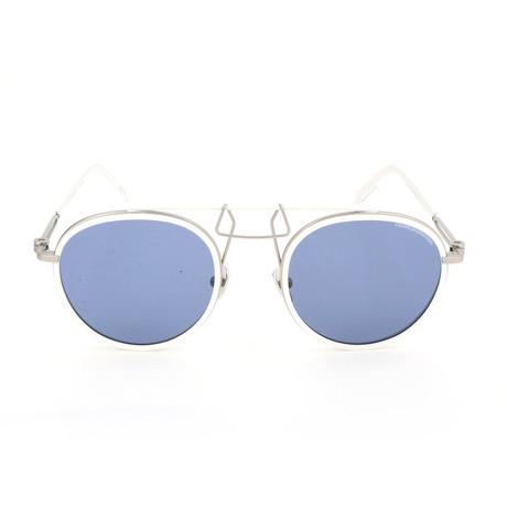 Unisex CKNYC1873 Sunglasses // White