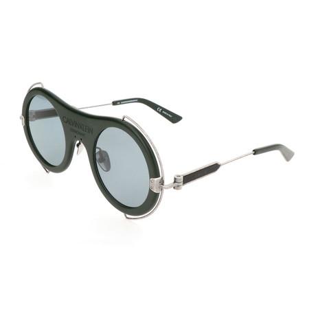 Unisex CKNYC1875SR Sunglasses // Matte Forest Green