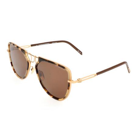 Unisex CKNYC1874 Sunglasses // Khaki Tortoise