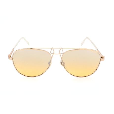 Unisex CKNYC1812 Sunglasses // Gold + Yellow II