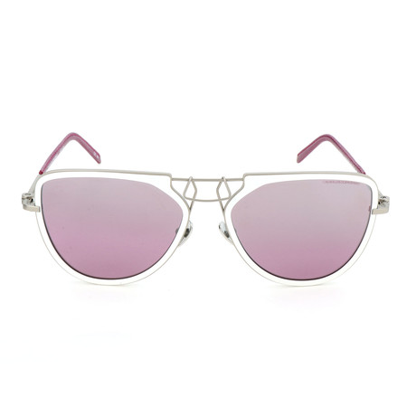 Unisex CKNYC1874 Sunglasses // White