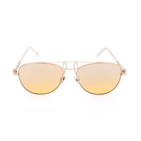 Unisex CKNYC1812 Sunglasses // Gold + Yellow