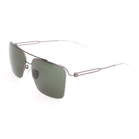 Men's CK8051 Sunglasses // Shiny Titanium