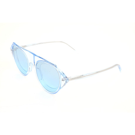 Men's CKNYC1854SR Sunglasses // Crystal Light Blue