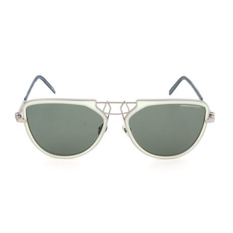 Unisex CKNYC1874 Sunglasses // Milky Light Green