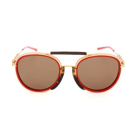 Unisex CKNYC1814 Sunglasses // Red
