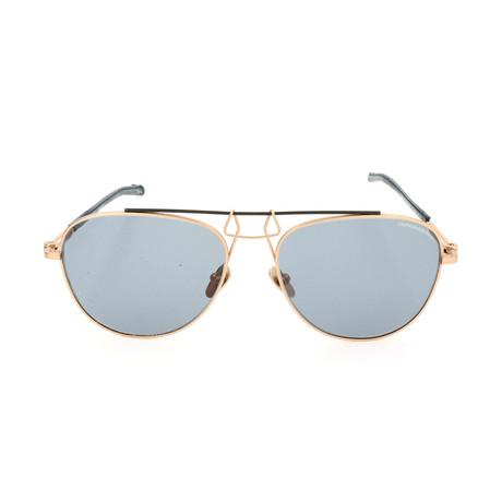 Unisex CKNYC1812 Sunglasses // Gold + Green II