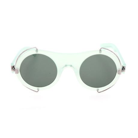 Unisex CKNYC1877SR Sunglasses // Milky Light Green