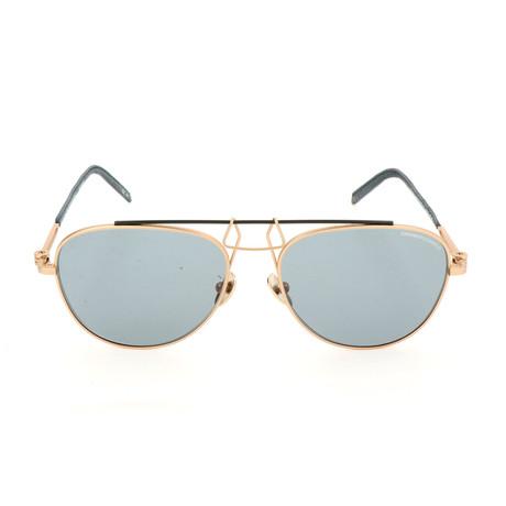 Unisex CKNYC1812 Sunglasses // Gold + Green