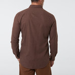 Frantz Shirt // Brown (M)