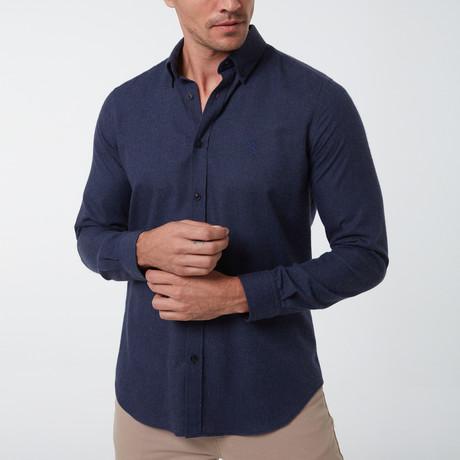Frantz Button-Up Shirt // Navy (S)