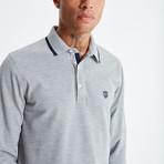 Amo Long Sleeve Polo // Gray (L)