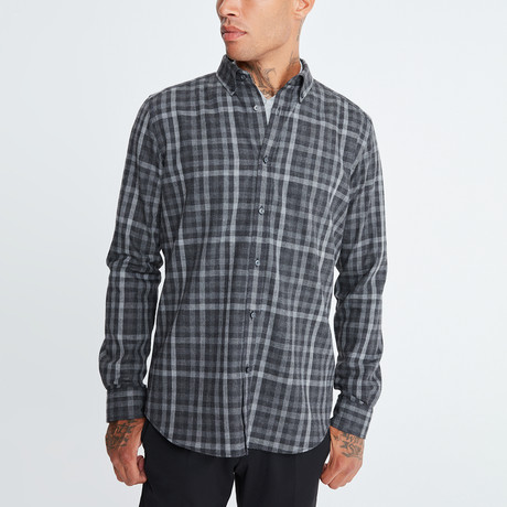 Fernando Button-Up Shirt // Gray (S)