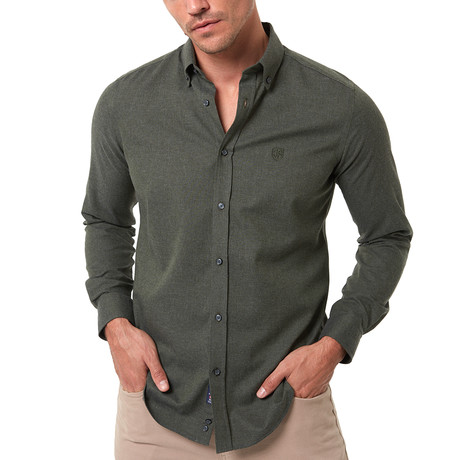 Frantz Shirt // Khaki (S)