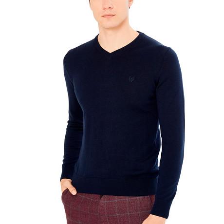 Roosevelt Sweater // Navy (S)