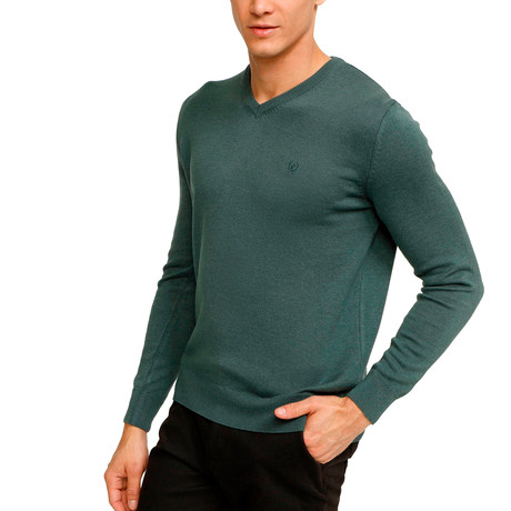Roosevelt Sweater // Retro Green (S)