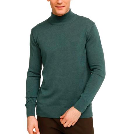 Johnson Half Turtleneck Sweater // Retro Green (S)