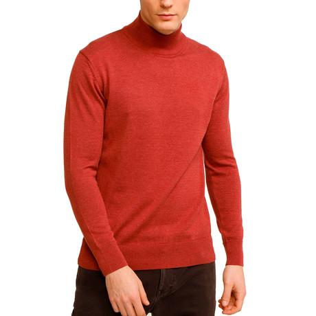 Johnson Half Turtleneck Sweater // Rose (S)