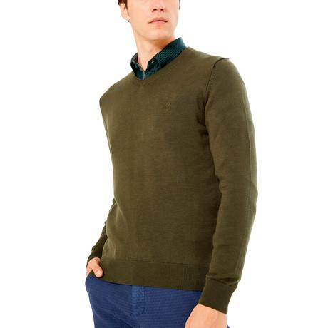 Roosevelt Sweater // Khaki Green (S)