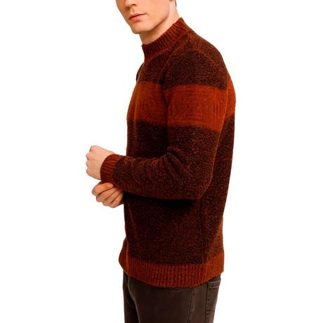 Adams Sweater // Brick (S)