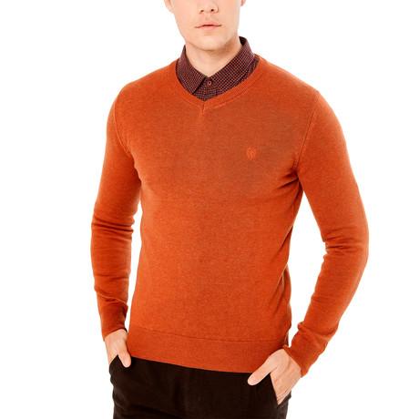 Roosevelt Sweater // Brick (S)
