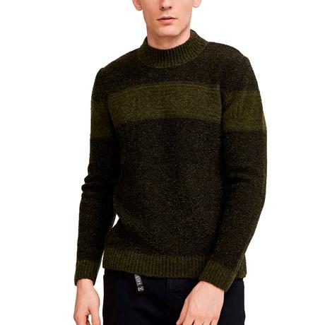Adams Sweater // Dark Khaki (S)