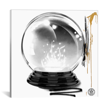 "Lucky Crystal Ball (12""W x 12""H x 0.75""D)"