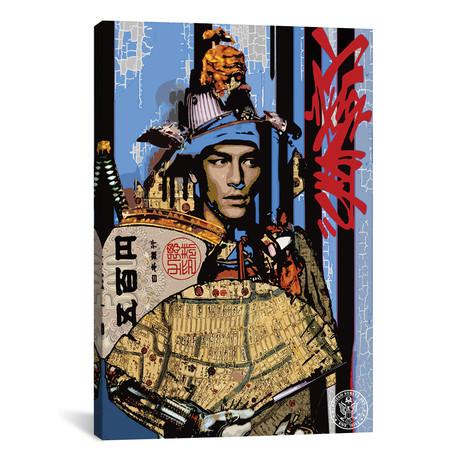 "Blue Samurai // D13EGO (12""W x 18""H x 0.75""D)"