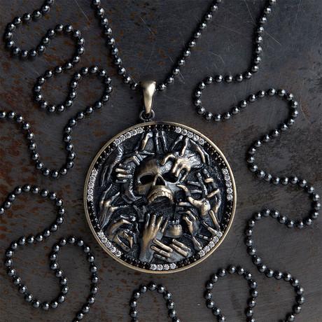 GKL0143 // Underwold Of Hades // Black + White Stones (XS-S)