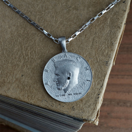 GKL0139 // Coin Necklace // Silver (XS-S)