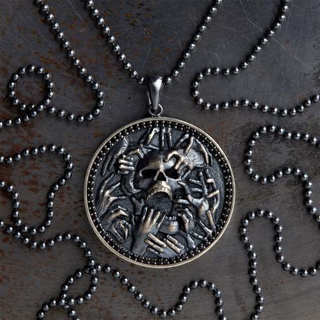 GKL0142 // Underwold Of Hades // Black + Black Stones (XS-S)