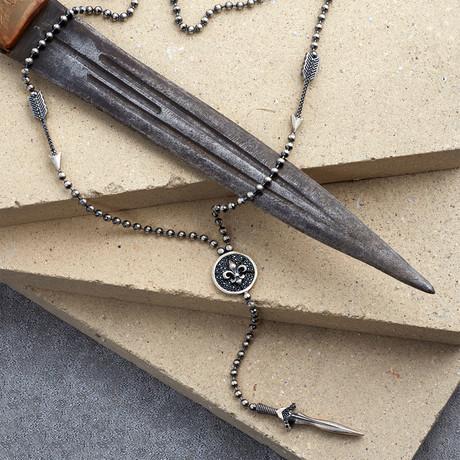 GKL0088 // Symbol Of Luıs  // Matte Silver (XS-S)