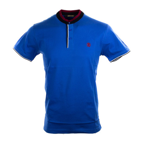 Maverick Polo // Blue (S)