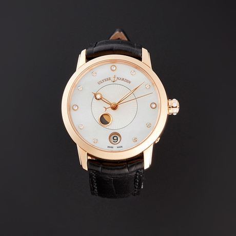 Ulysse Nardin Classico Lady Luna Moonphase Automatic // 8296-123-2/991 // Pre-Owned