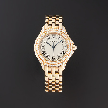 Cartier Ladies Cougar Quartz // WF8003B9 // Pre-Owned