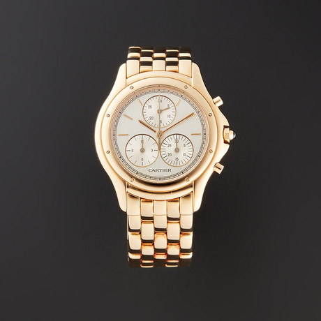Cartier Ladies Cougar Chronograph Quartz // W35007B9 // Pre-Owned