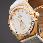 Omega Ladies Constellation Double Eagle Chronograph Automatic // 121.17.35.50.05.001 // Pre-Owned