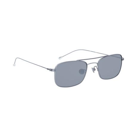 Men's AD46C2 Sunglasses // White Gold + Silver