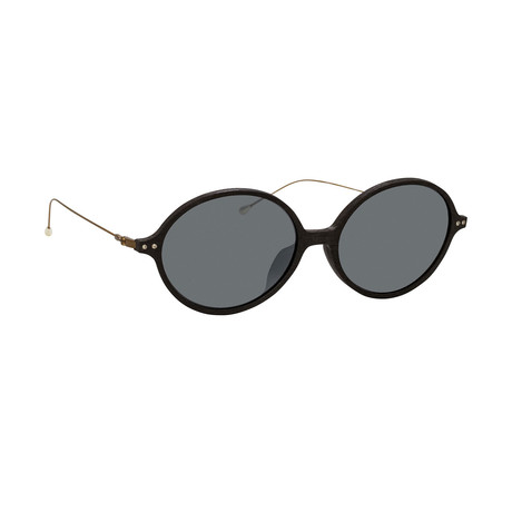 Unisex AD64C2 Sunglasses // Black + Silver