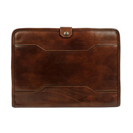 The Call Of The Wild // Leather Organizer // Dark Brown