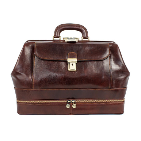 Master and Margarita // Leather Doctor Bag // Brown