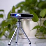 Lenso Spaceship 4K & 1080p Projector // 16GB